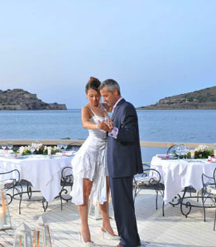 Wedding and Honeymoons at Domes of Elounda