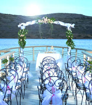 Weddings at Domes of Elounda